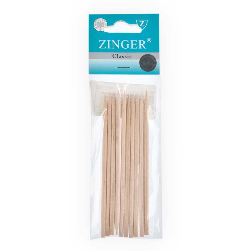 Палочки маникюрные, деревянные 12см (10 шт), Zinger zo-IG-12ST-10