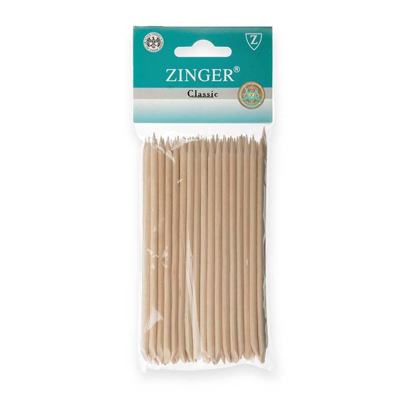 Палочки маникюрные, деревянные 12см (50 шт), Zinger zo-IG-12SL-50
