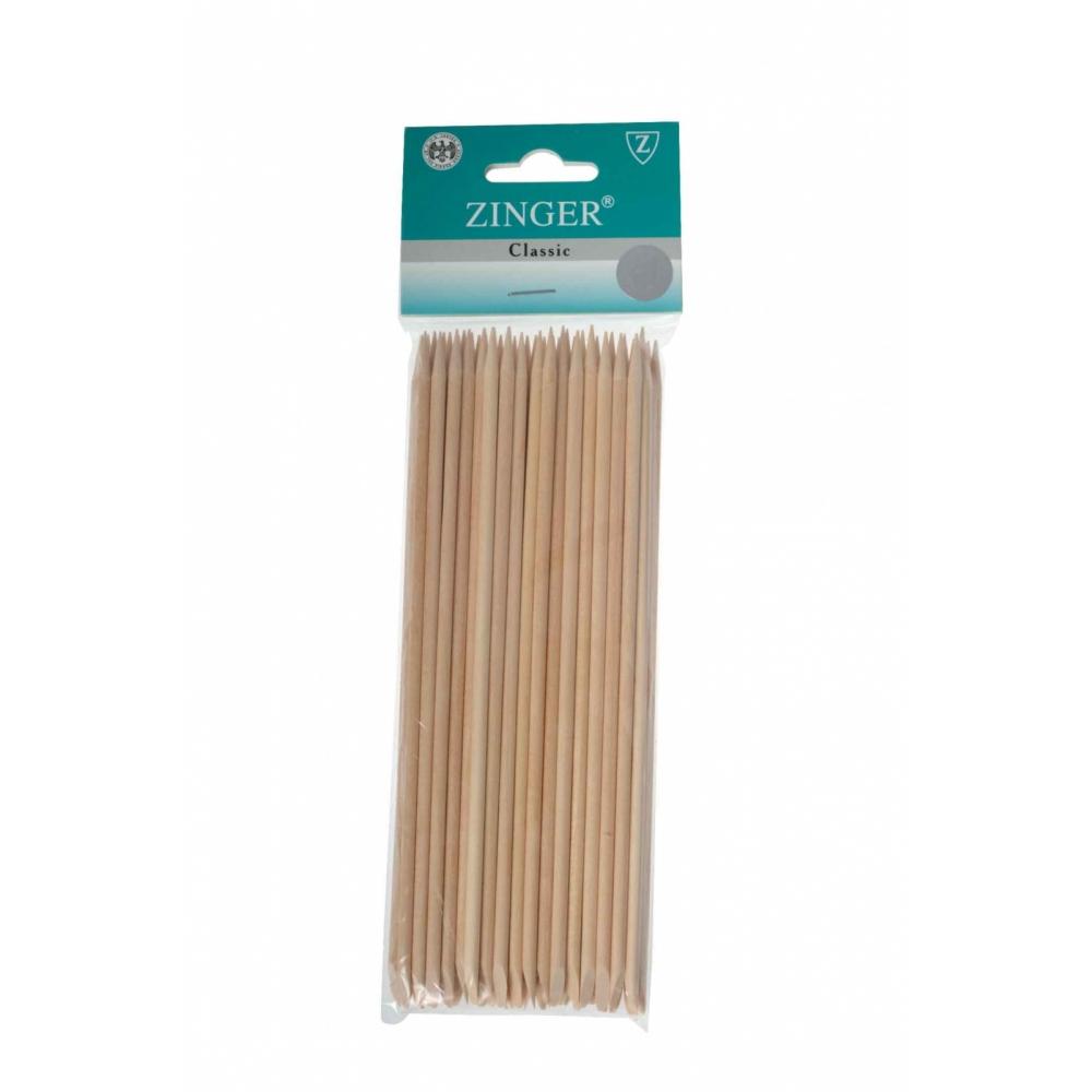 Палочки маникюрные, деревянные 12см (30 шт), zo-IG-12ST-30 Zinger