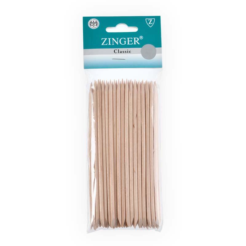 Палочки маникюрные, деревянные 14см (50 шт), Zinger zo-IG-14SL-50