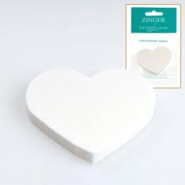 Спонжик-сердце для макияжа (Подарок!) Zinger