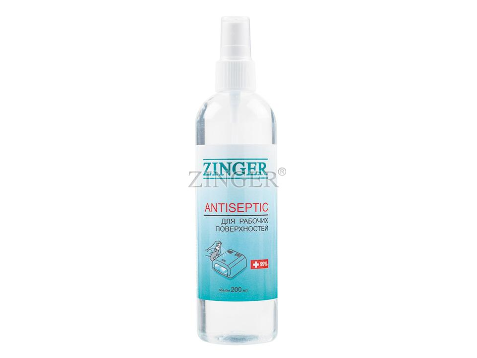 Антисептик для рабочих поверхностей Zinger SR29, 200мл