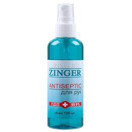 Антисептик для рук спрей Zinger SR300, 100мл