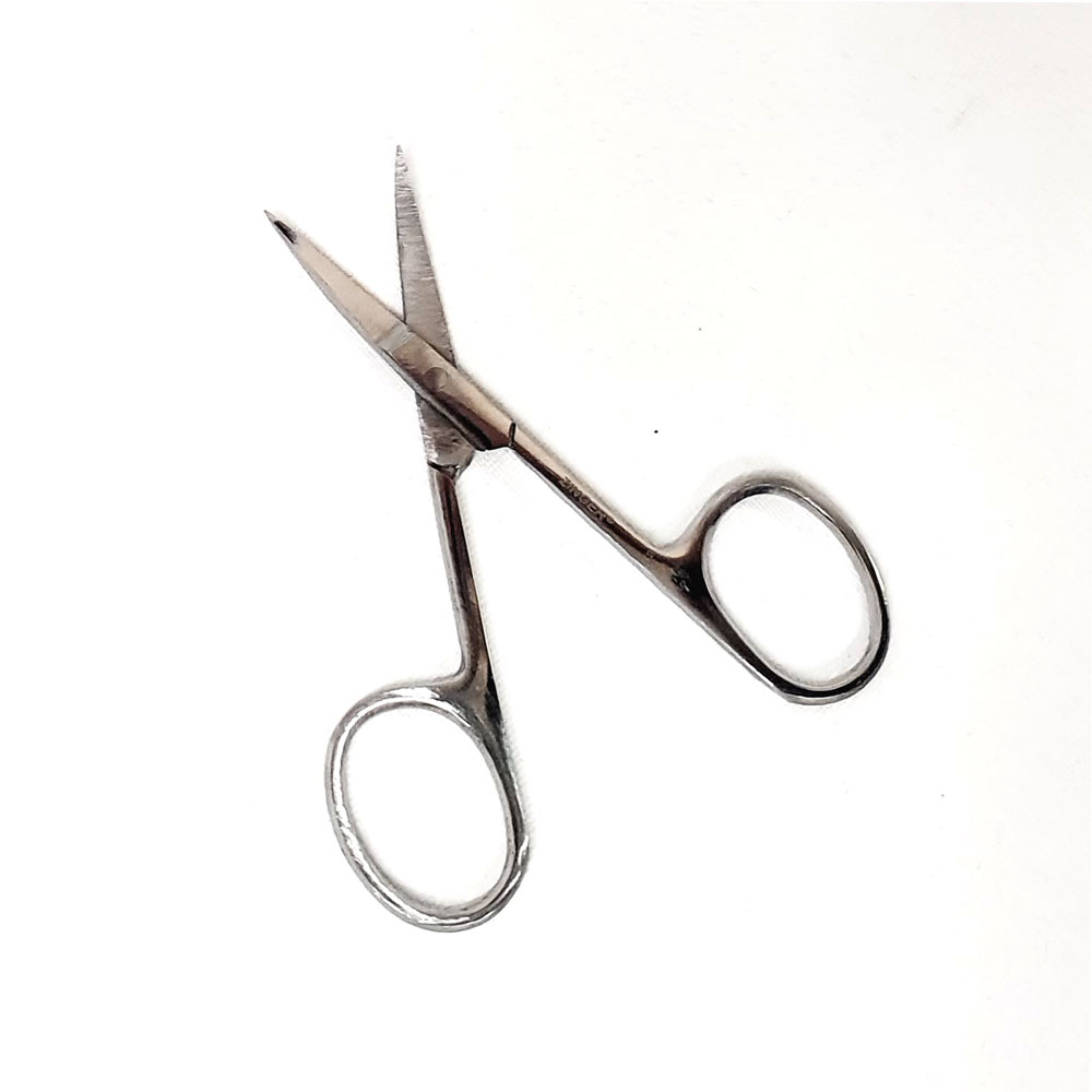 Ножницы маникюрные, закругленные Zinger zs-B-113-S