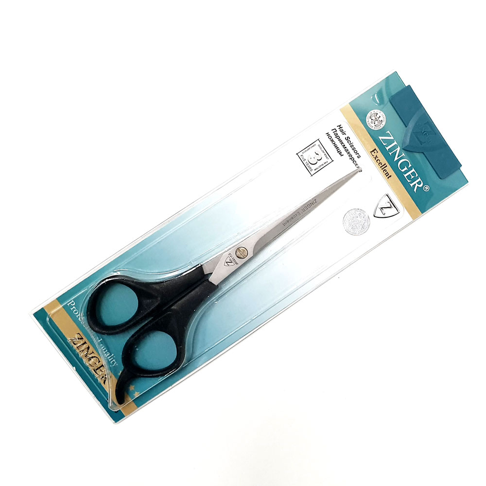 """Ножницы парикмахерские без микронасечки с усилителем, 6.5"""" Zinger ze-EV-1506F 6.5"""