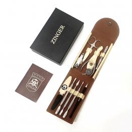 Маникюрный набор на кнопке (9 предметов), Zinger zo-MS-1401-21210-3 S