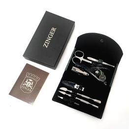 Маникюрный набор на кнопке (8 предметов), Zinger zo-MS-1402-21205-3 S
