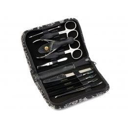 Маникюрный набор на молнии (10 предметов) Zinger zs-MS-22405-S-PVC
